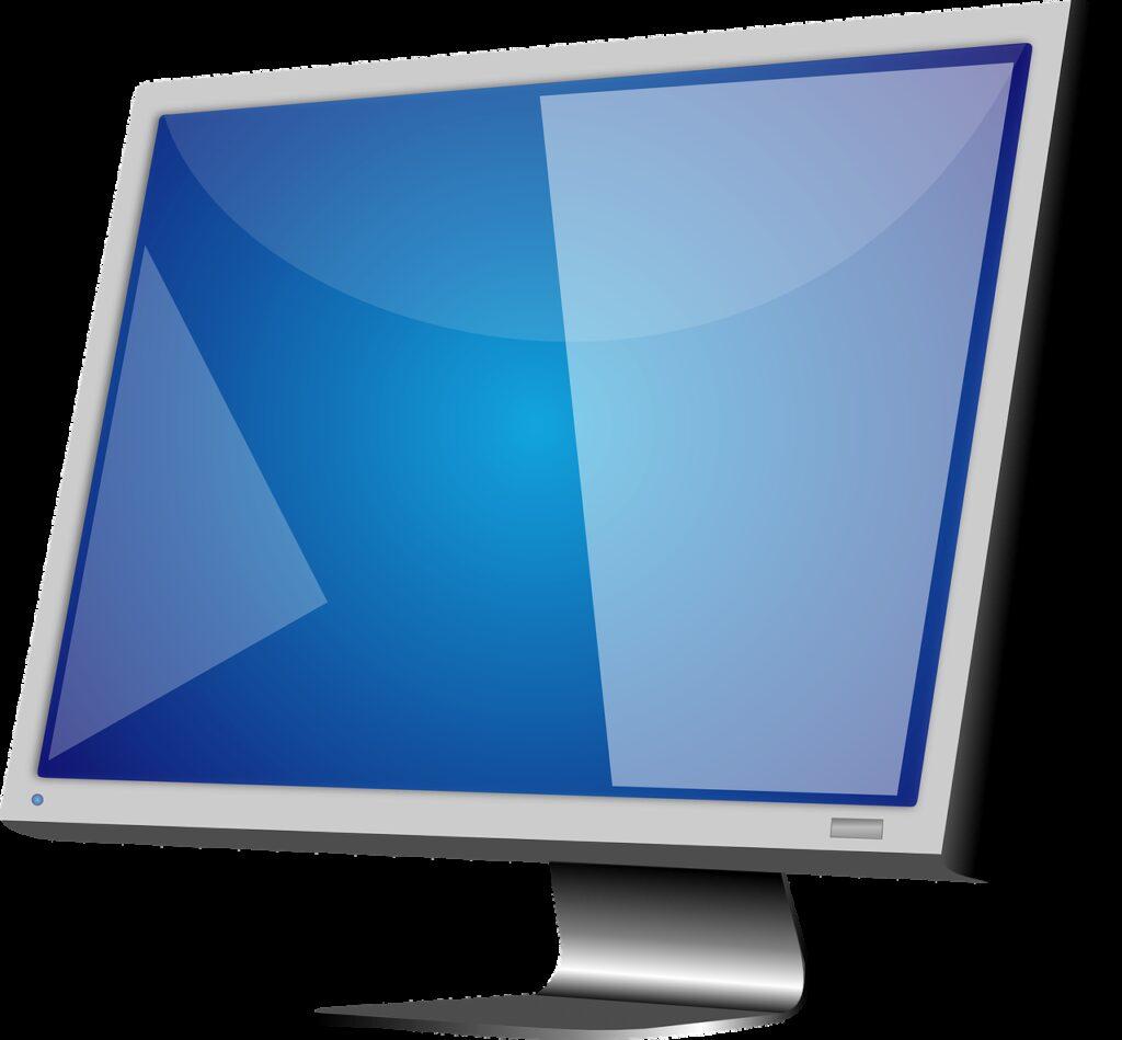 lcd, monitor, display